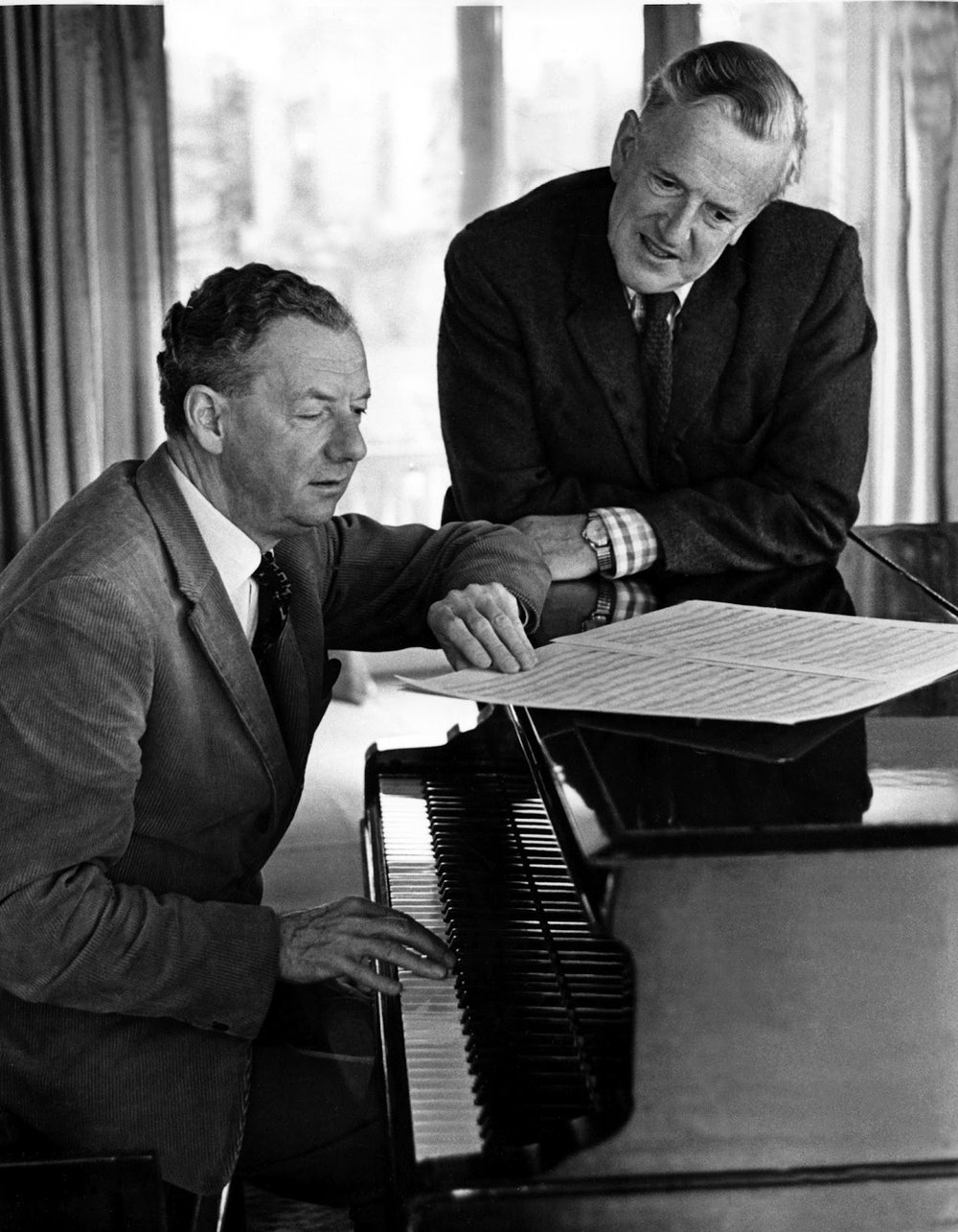 Britten and Peter Pears