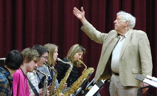 Schuller with Jazz ensemble