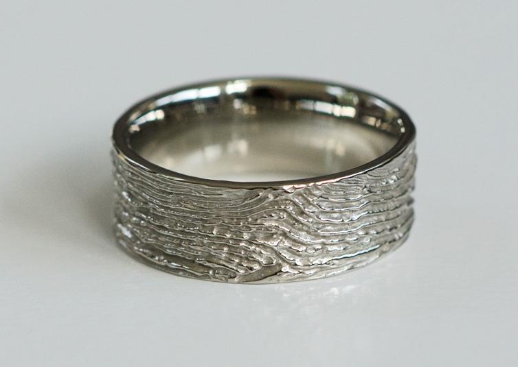 Protea wedding ring