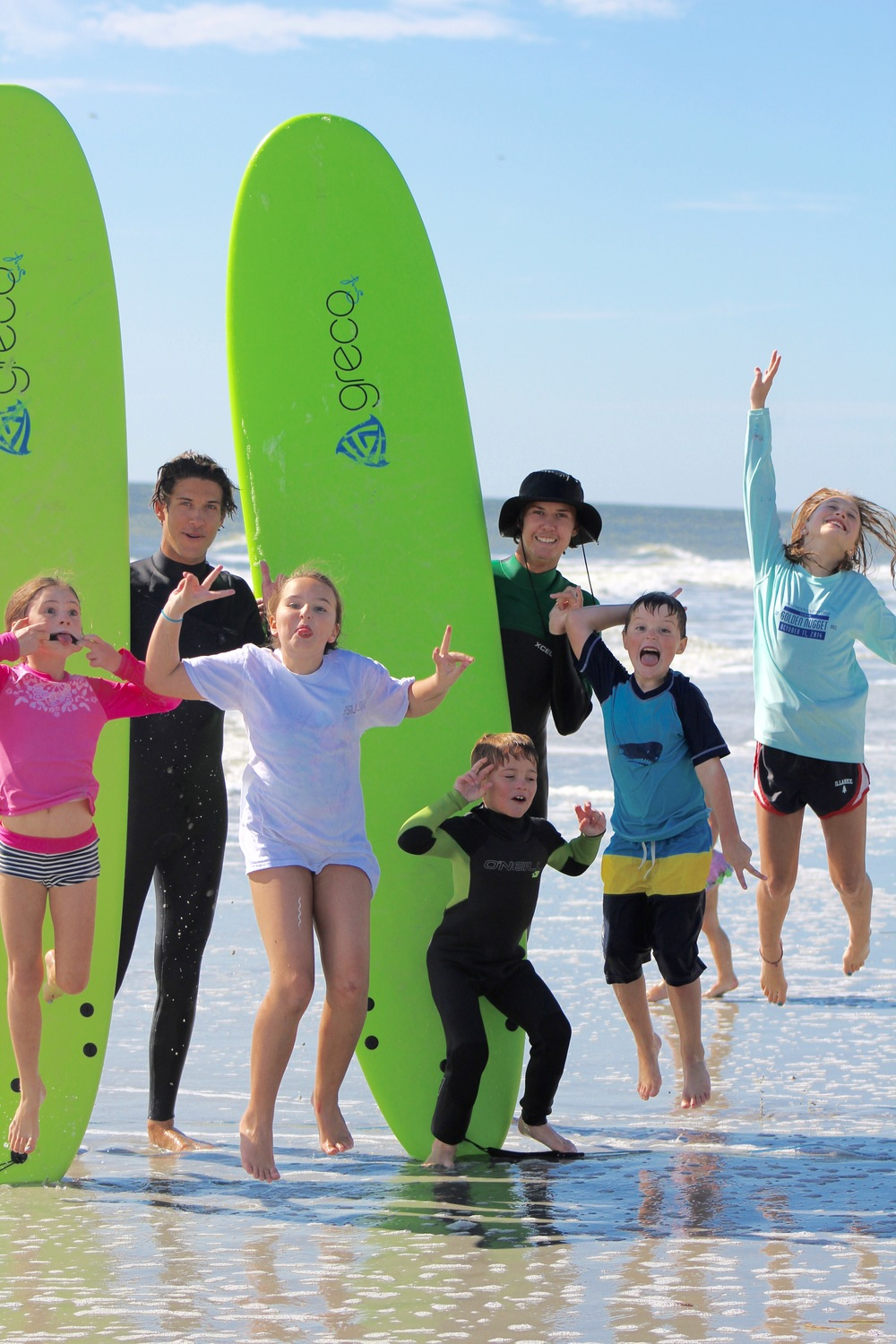Isla Surf School's summer surf camps are an absolute blast for our campers (and instructors)!