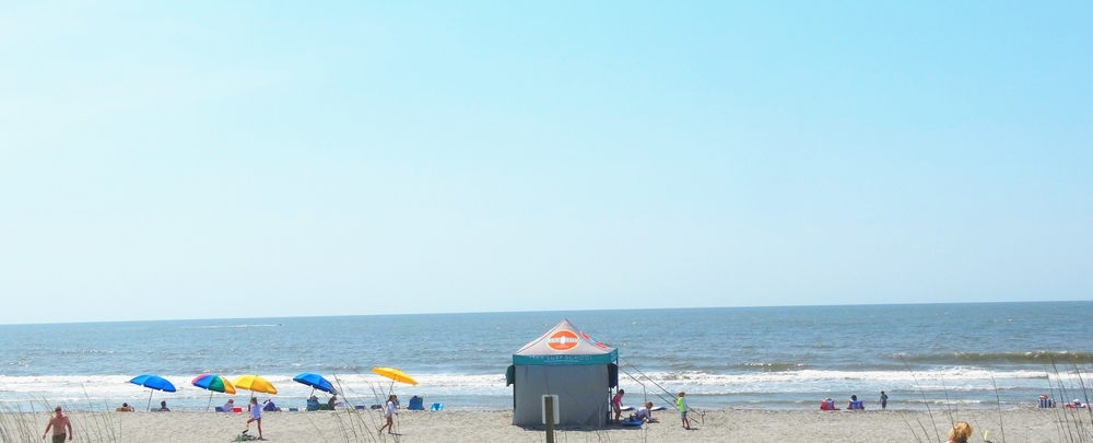 Another beautiful day on Folly Beach, Charleston, SC