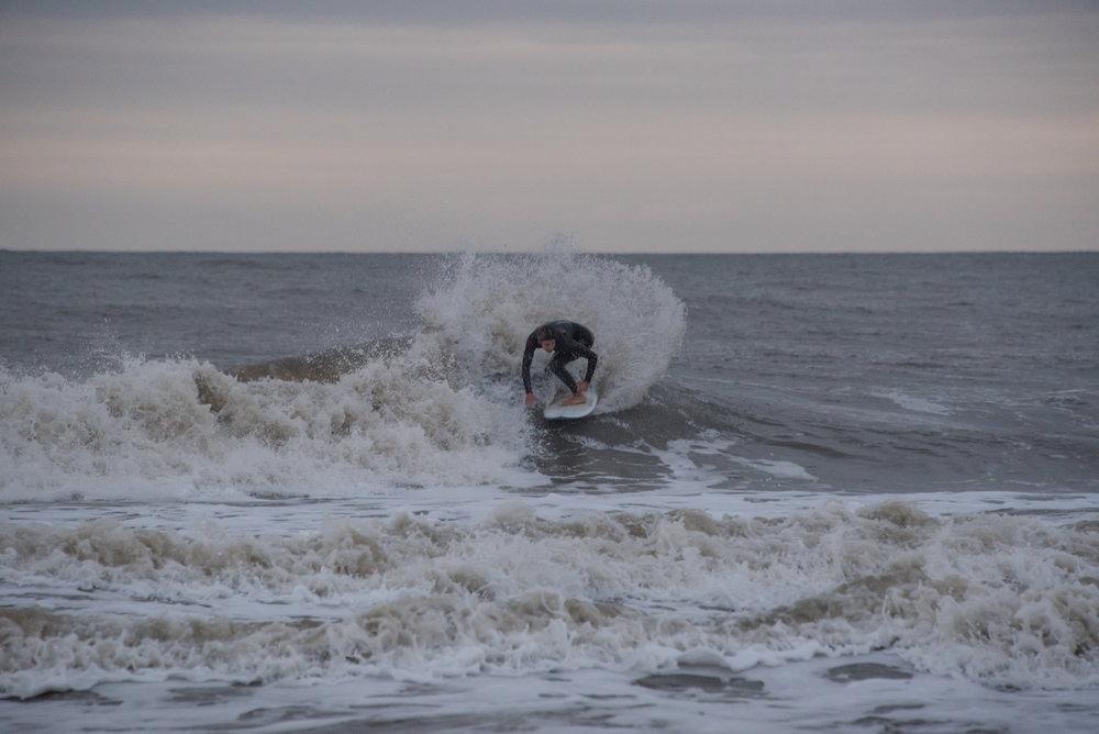 Little whip from last week on Folly Beach.