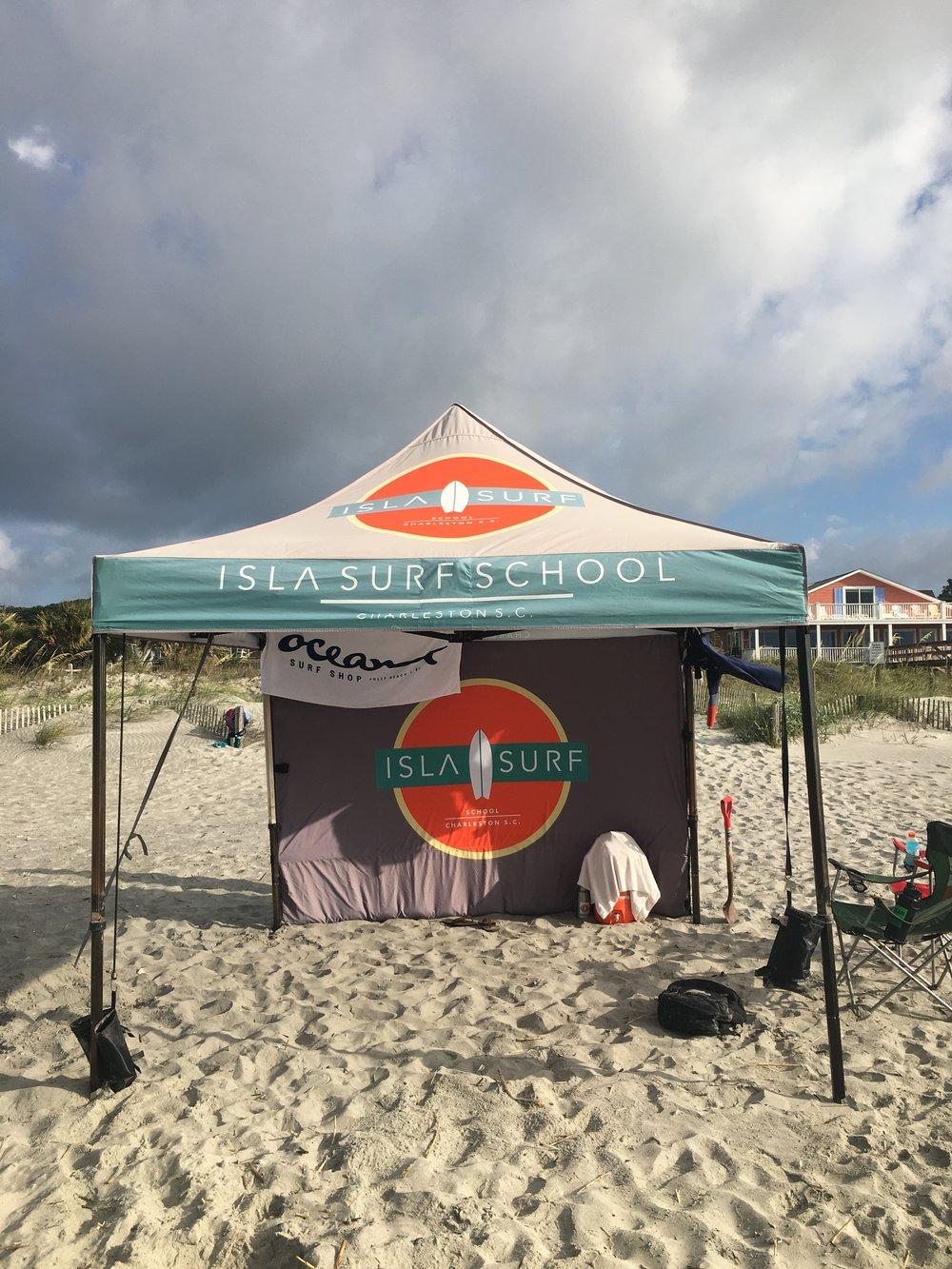 Isla Surf School + Ocean Surf Shop = Good Friends