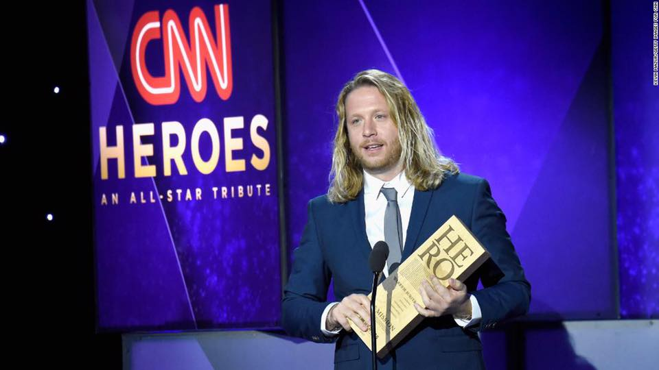 Andy at the CNN Heroes Awards in NYC.