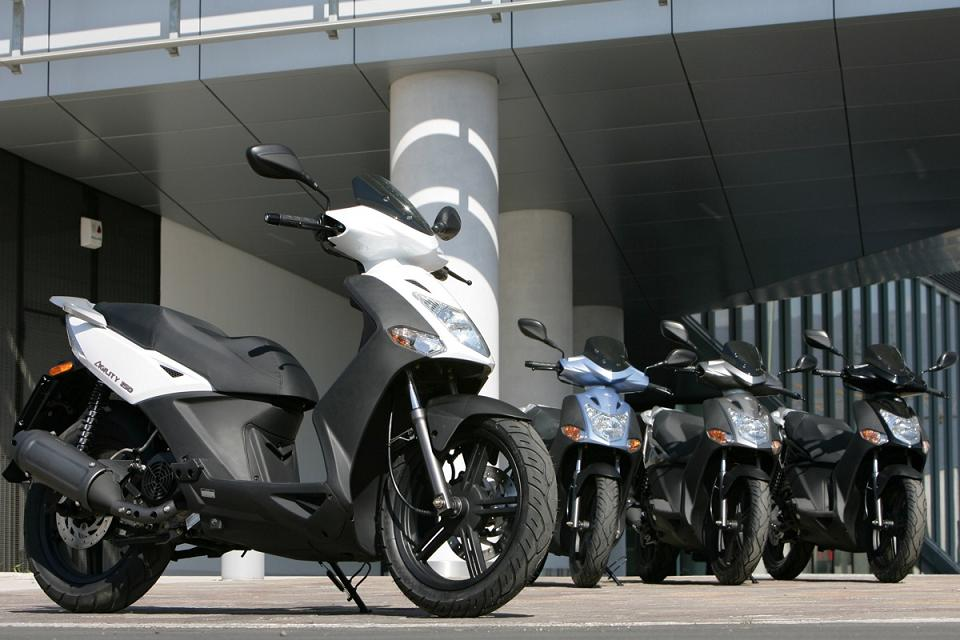 KYMCO AGILITY 50 - RENT THIS RIDE