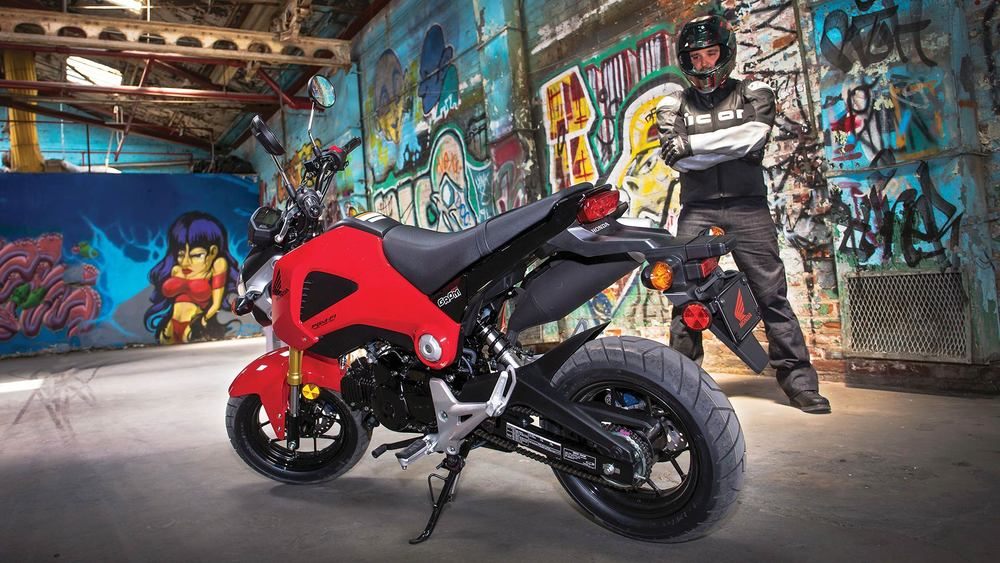 RENT THIS HONDA - HONDA GROM 125