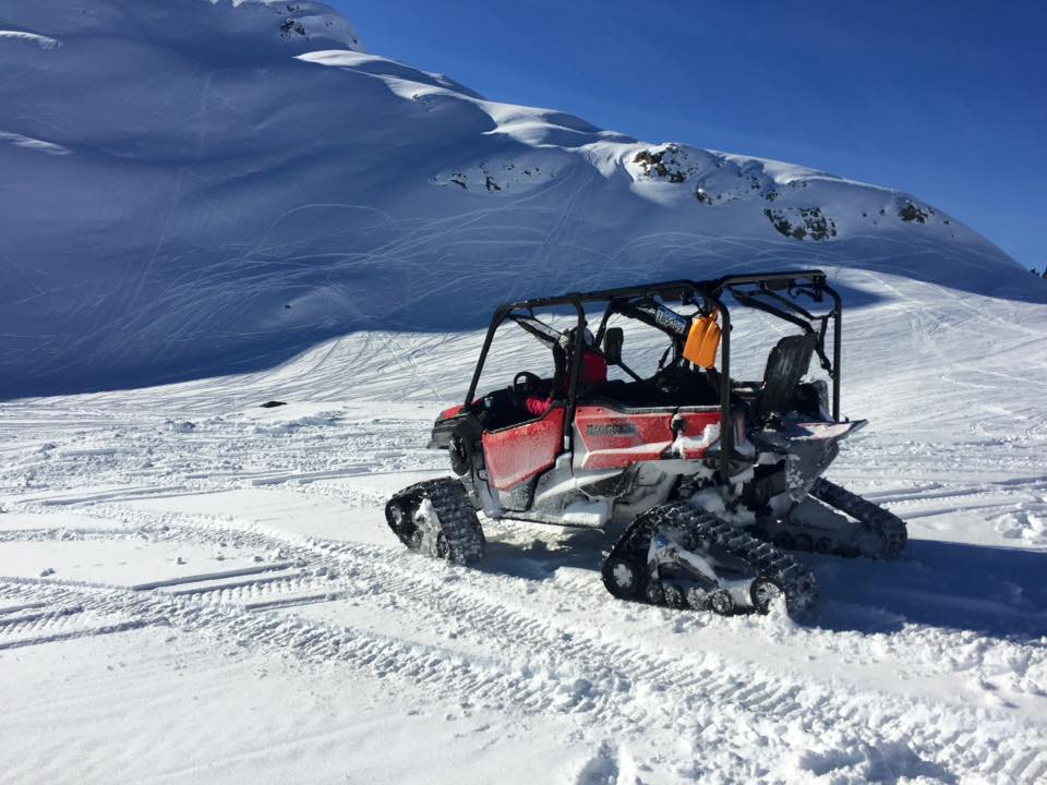 Honda Pioneer 700 W Trax All Season Rental Adventures