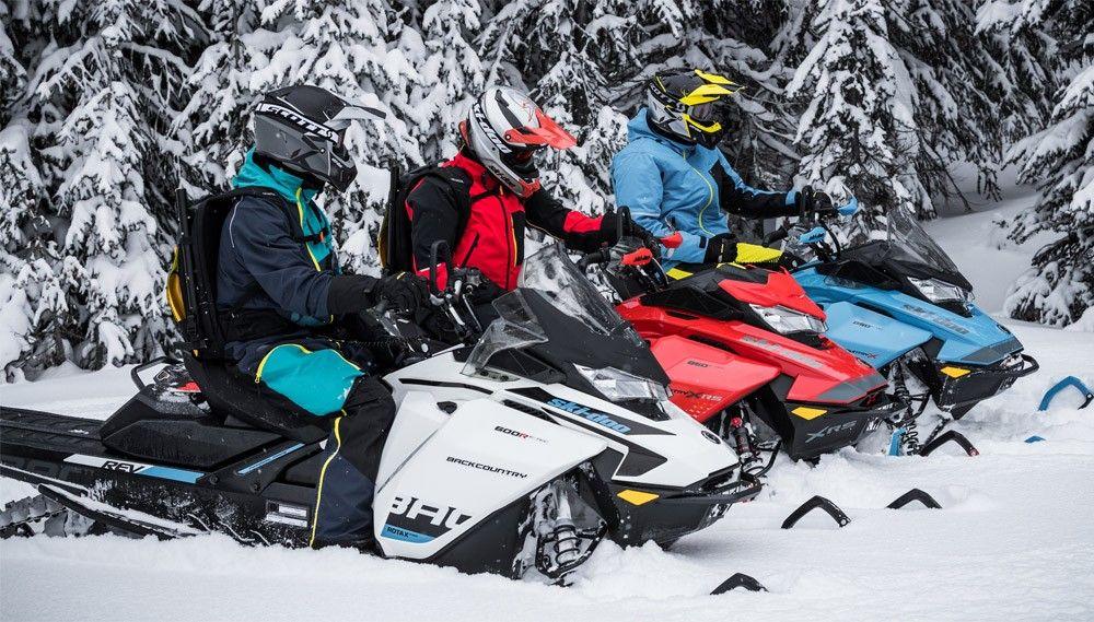 Calgary Snowmobile Rentals
