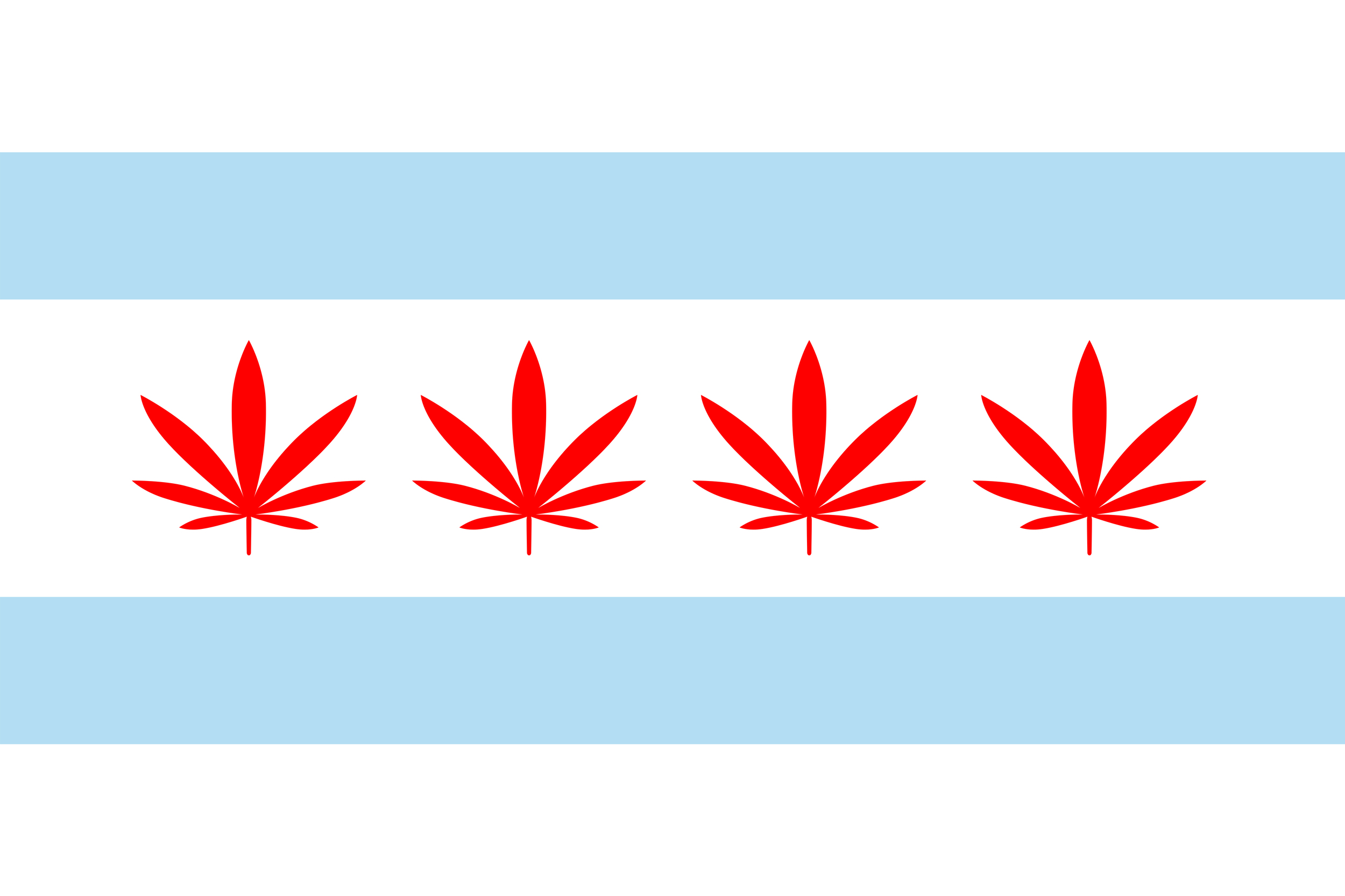 Image result for flag chicago marijuana