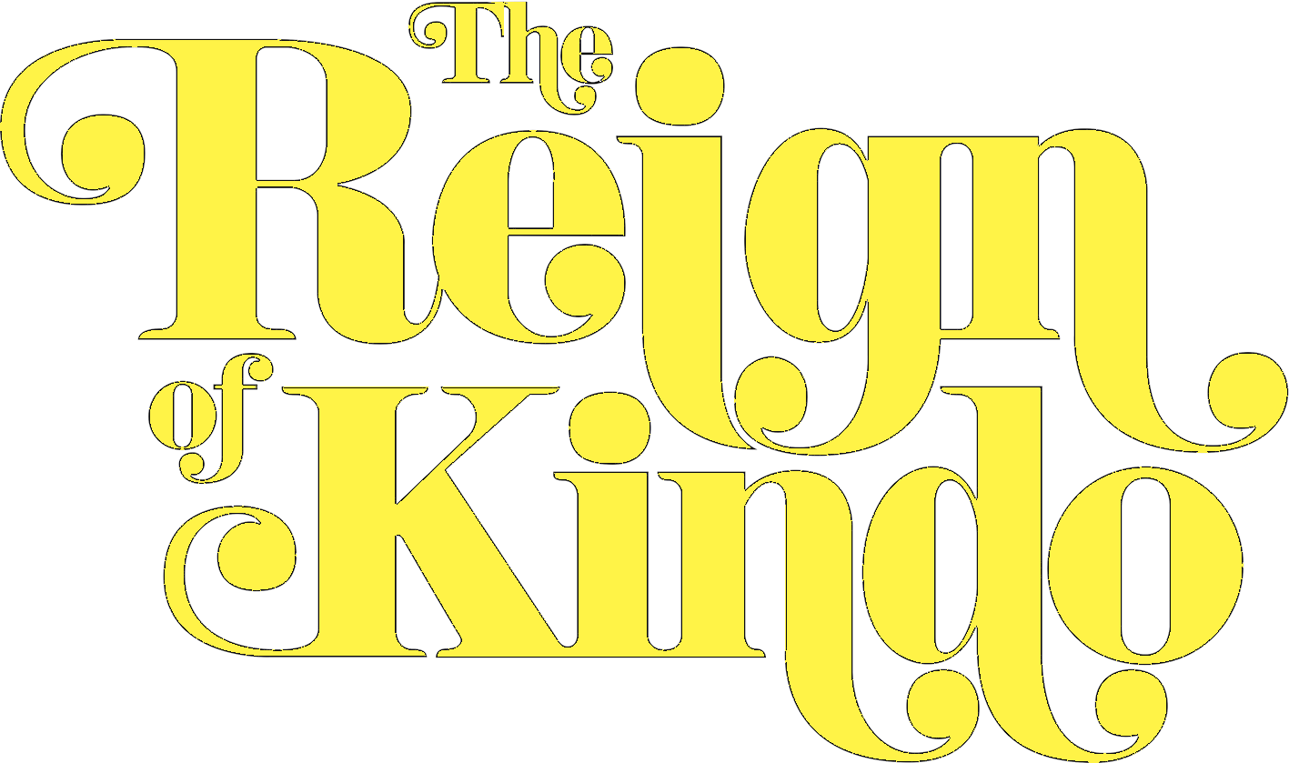 The Reign of Kindo (logo instead of text)