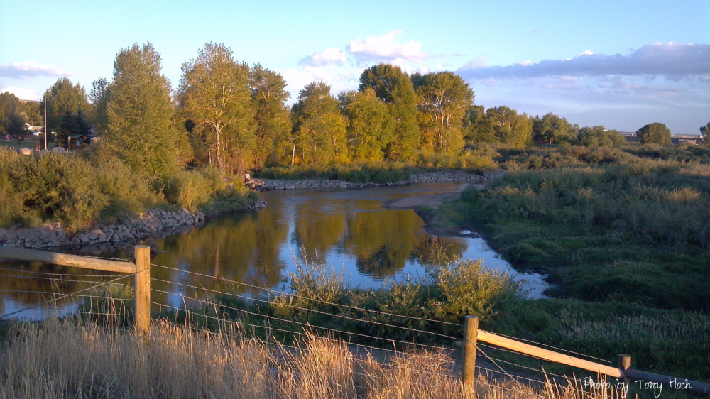 Laramie River at Optimist Park