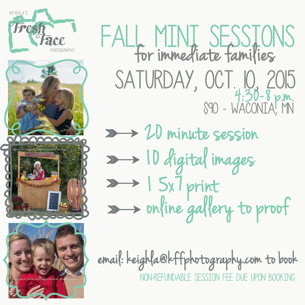 kffp fall 2015 mini session ad