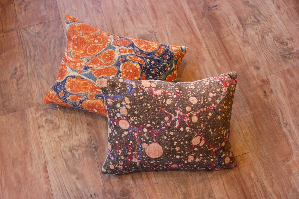 Marbled Pillows by Siren Song