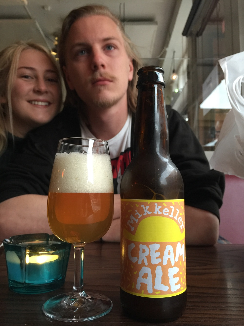 Cream Ale and lovely Swedish people!