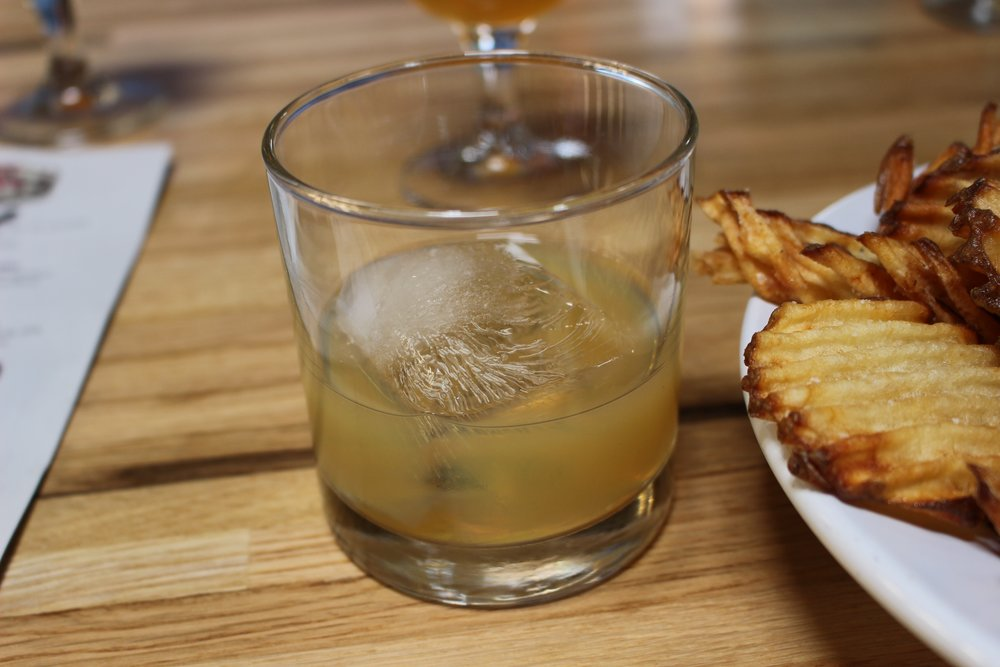 Bourbon, hops and fries.