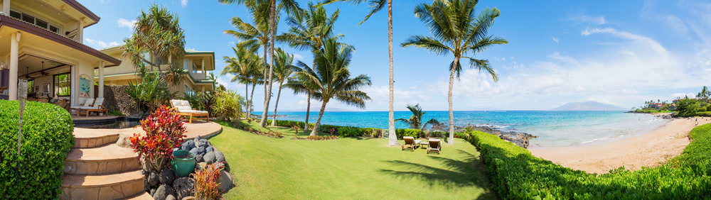 maui-oceanfront-luxury-property-rental-TTBH Yard Beach Panorama.jpg