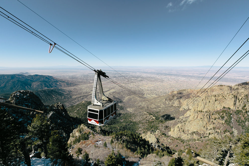 Sandia Tramway Car Down Landscape (1 of 1).jpg
