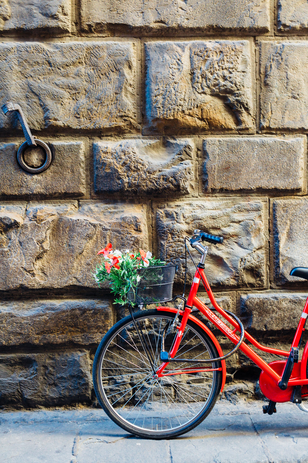 Flowers Red Bike Florence (1 of 1).jpg