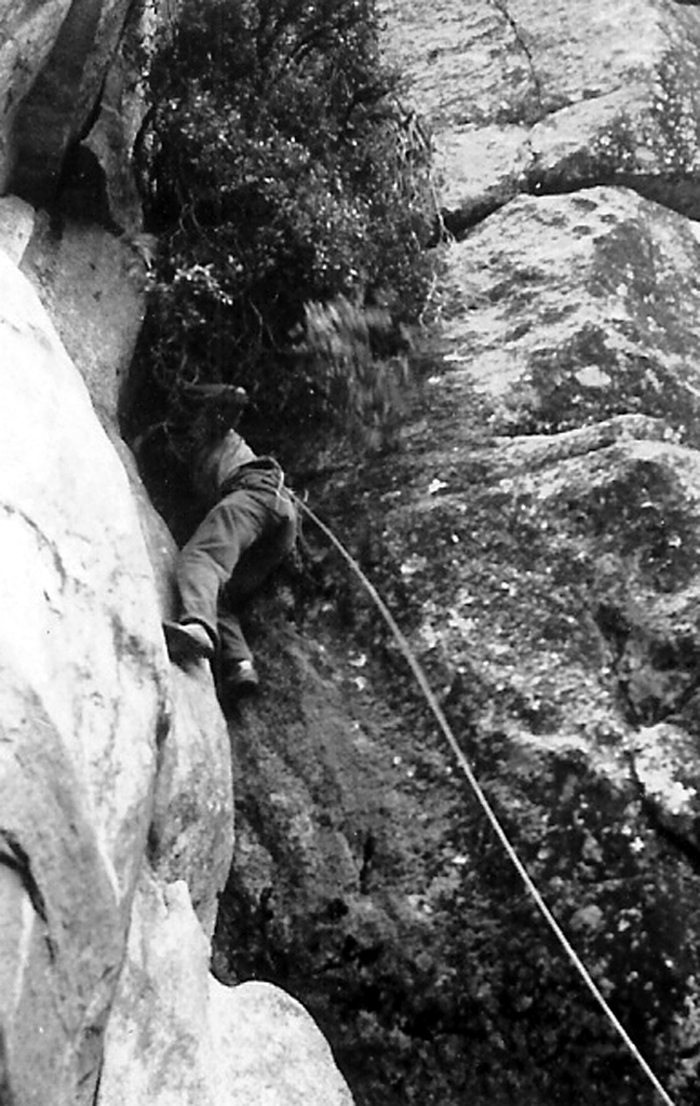 Bestor Robinson leading on Higher Spire
