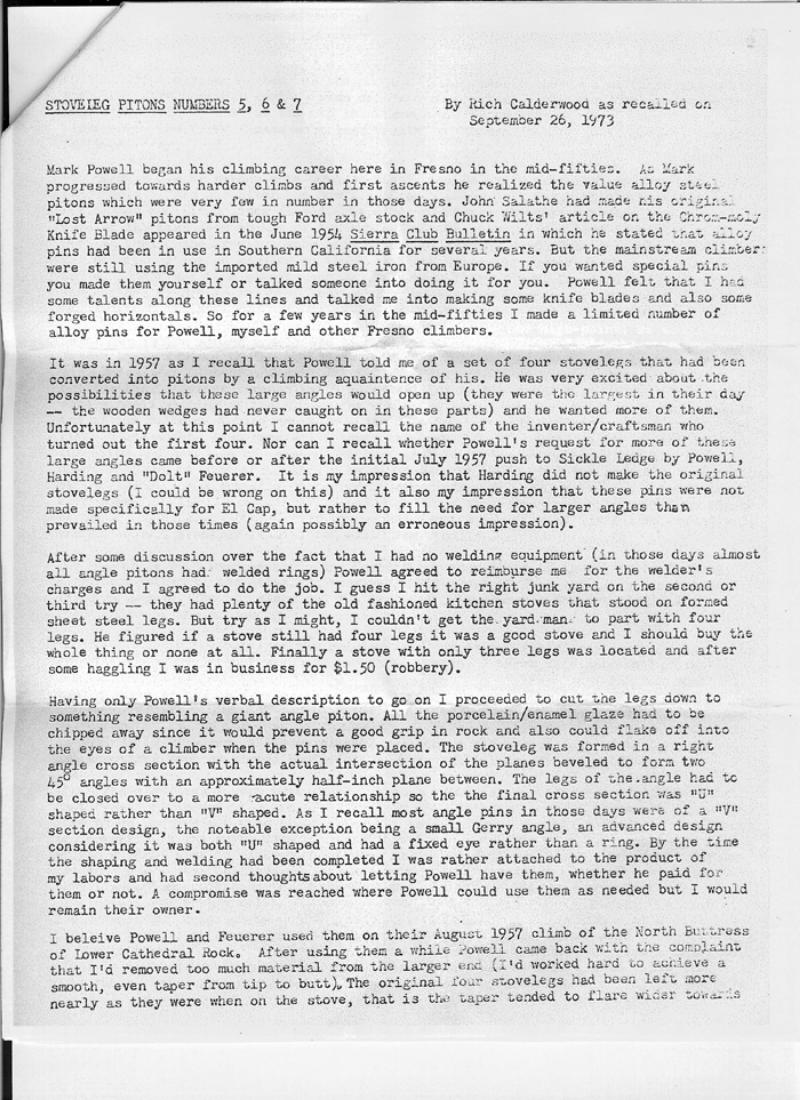 Stovelegs Letter 1