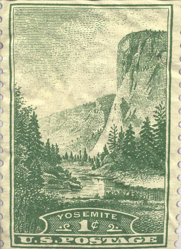 ElCap Stamp 1934