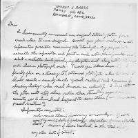 Rohrer Letter