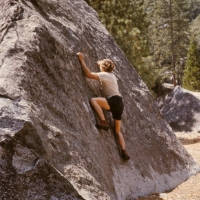 Pat Ament -Yosemite Bouldering 60's