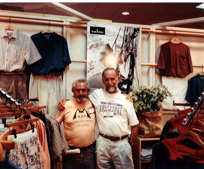 Warren Harding and Royal Robbins
