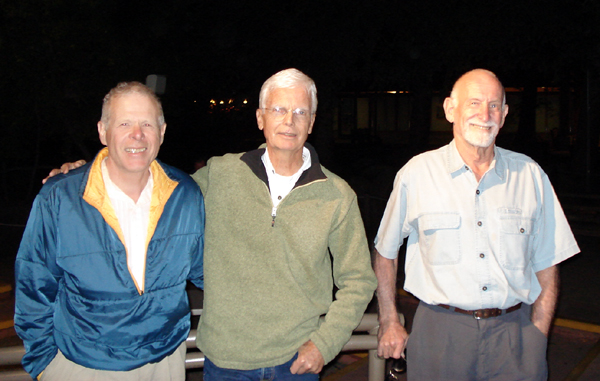 John Stannard, Tom Frost and Royal Robbins during the Facelift in 2007.