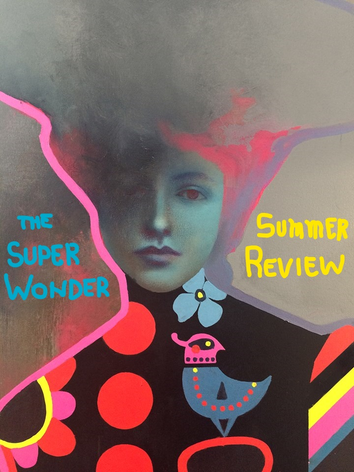 The SUPER WONDER SUMMER REVIEW is an exhibition of fine art and a celebration of beauty and passion through paintings and sculpture.  SWG's most accomplished fine artists are the focus here.  Prepare yourself and clear some new wall space in your home, you're going to need it!