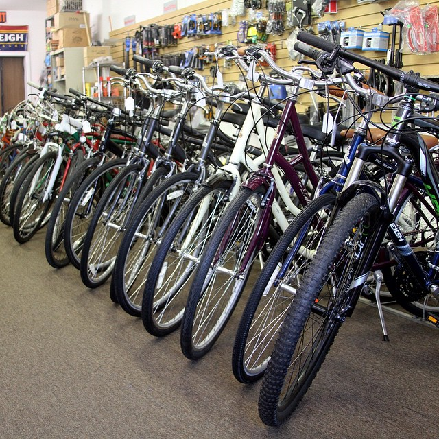 We are fully stocked! Come check out some great bikes!
