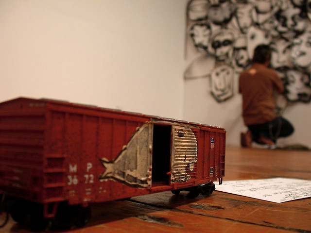 David-Choe-Graffiti-Toy-Train-Anno-Domini