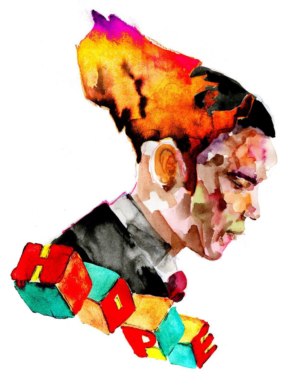 David-Choe-Obama-Watercolor