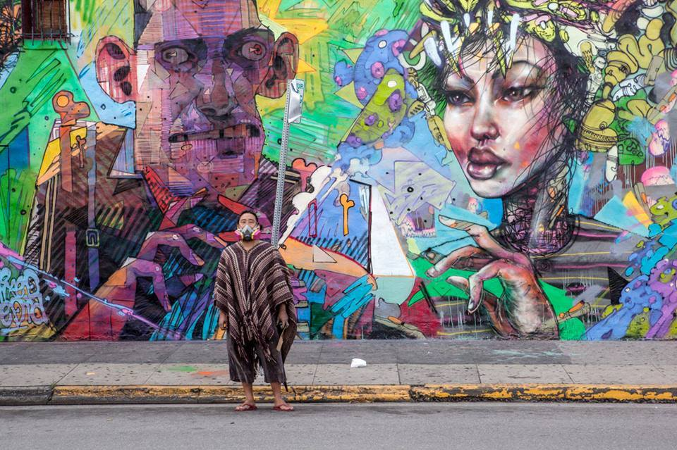 David choe and aryz mural in los angeles david choe for Call for mural artists 2014