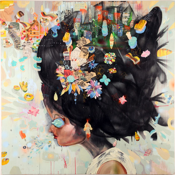 City Girl by David Choe