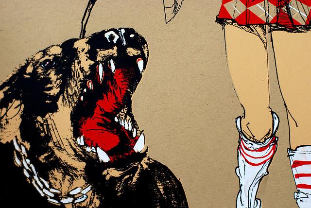 David Choe Hell Houndz print