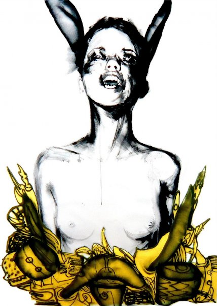 David-Choe-Donkey-Eared-Girl