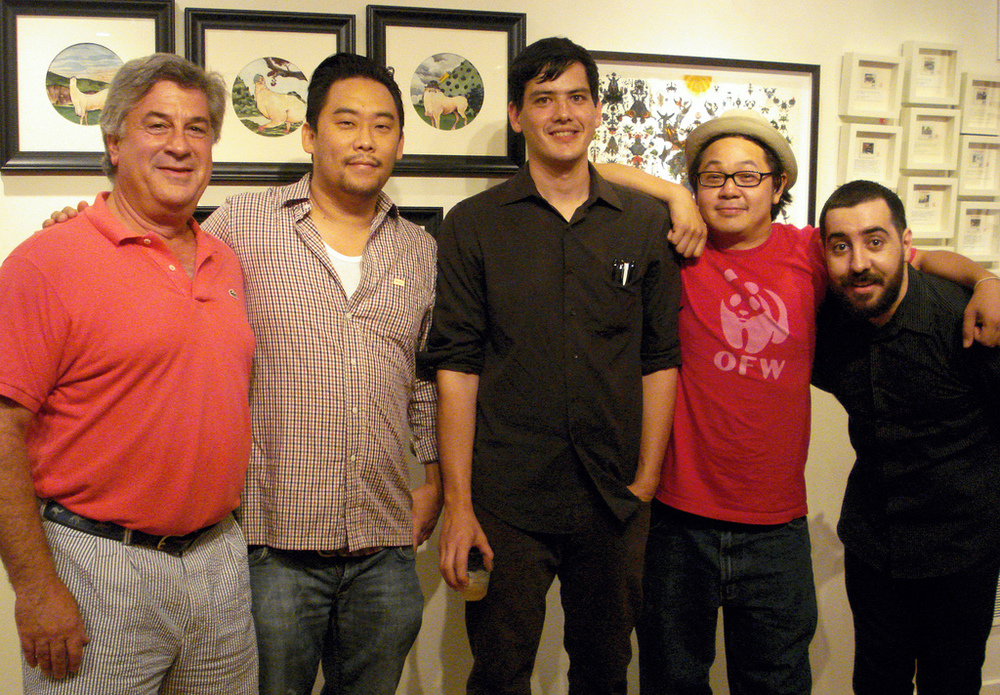 David-Choe-Curated-Opening-Night-Rob-Sato-Joe-To-11