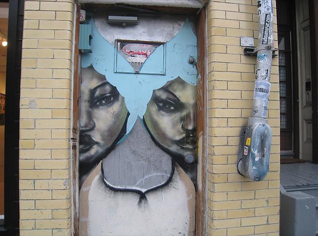 David Choe Twins Street Art