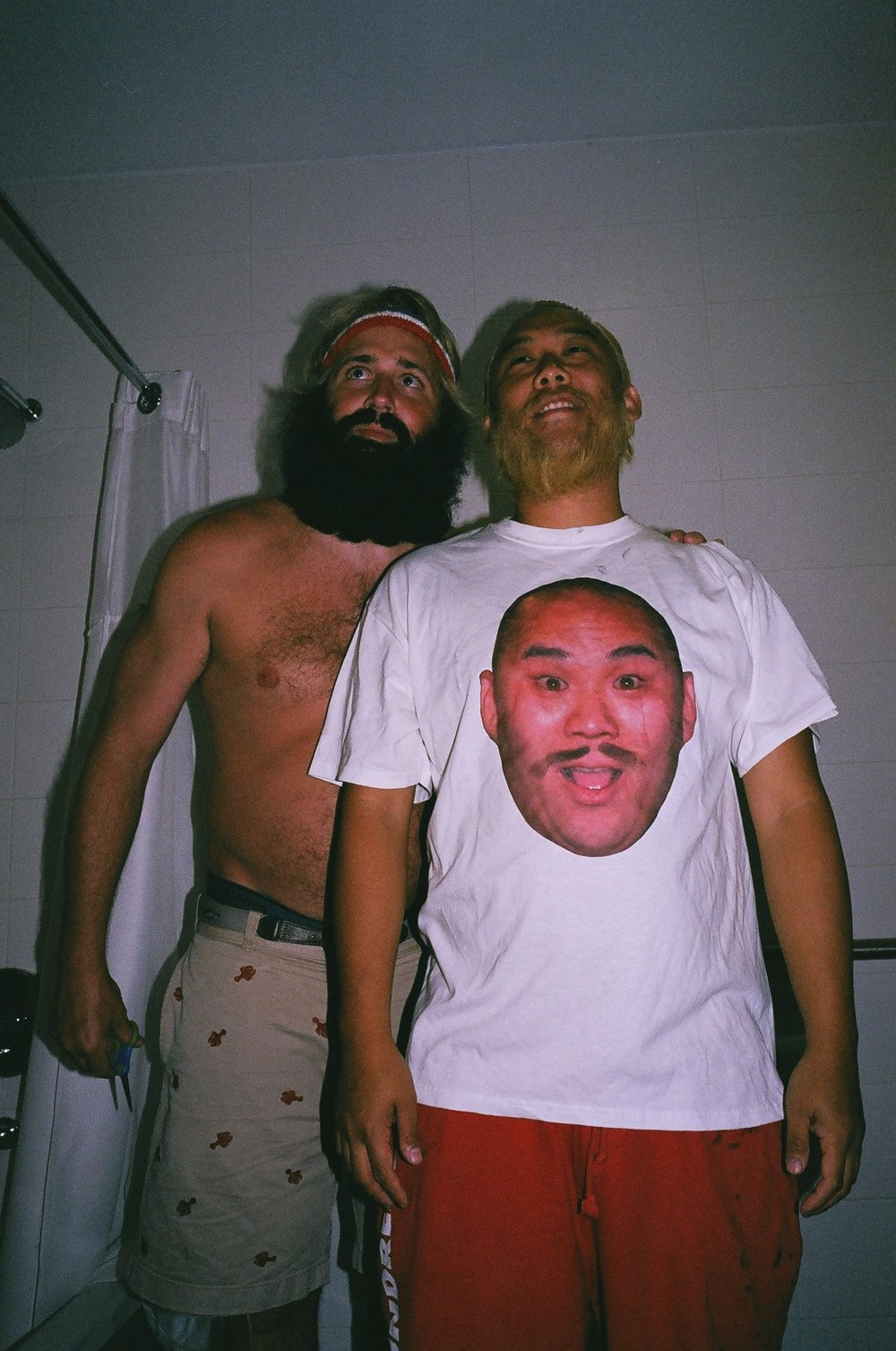 Critter x David Choe Thumbs Up season 4 beard inversion