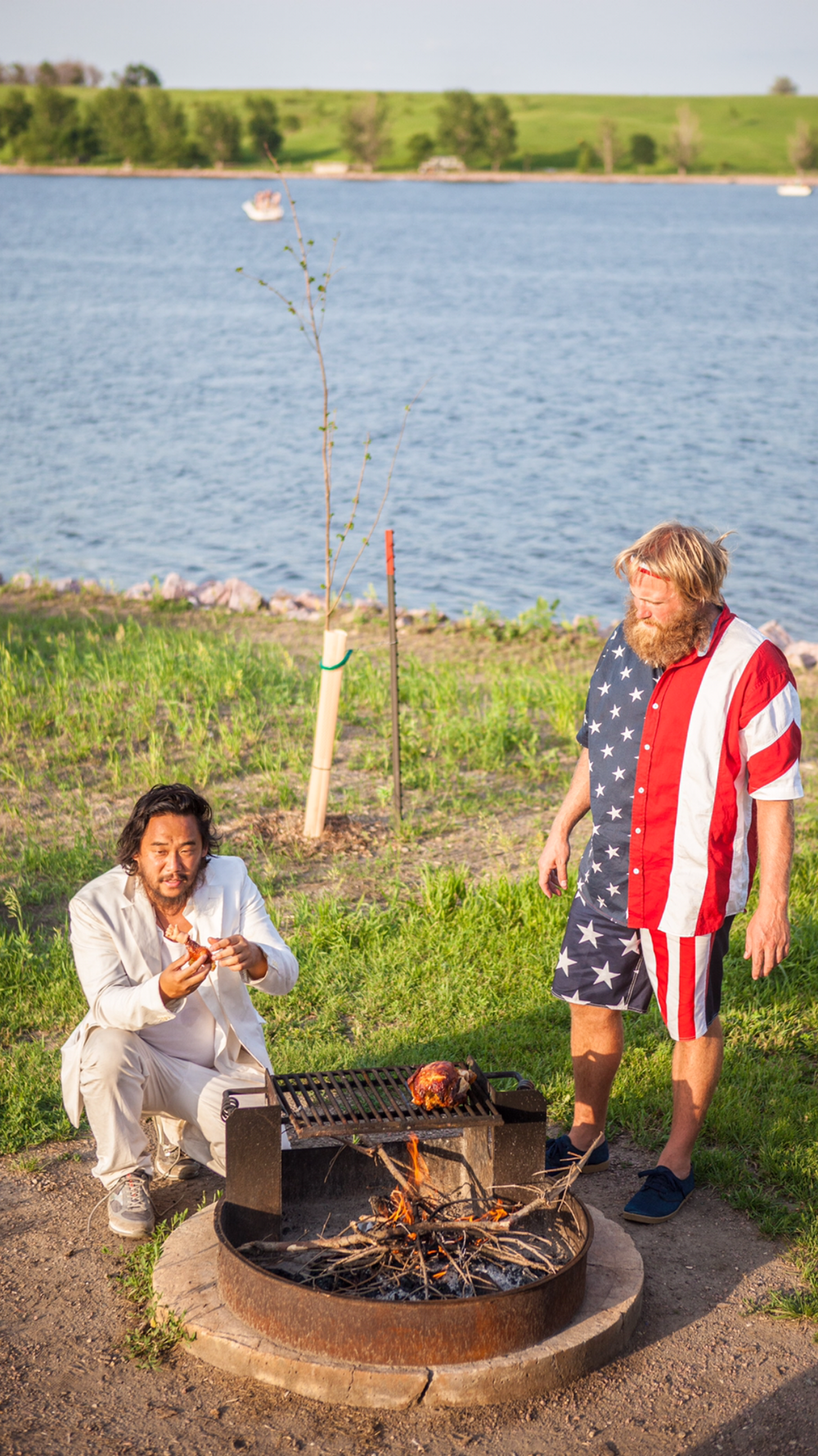 David Choe and Critter Flemming hitchhike across America in Thumbs Up Season 4