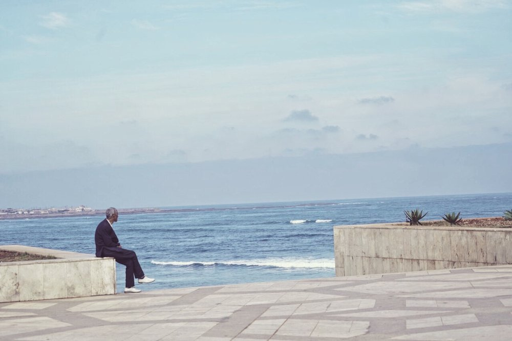 Man by the Sea, Igloo Hong, Morocco