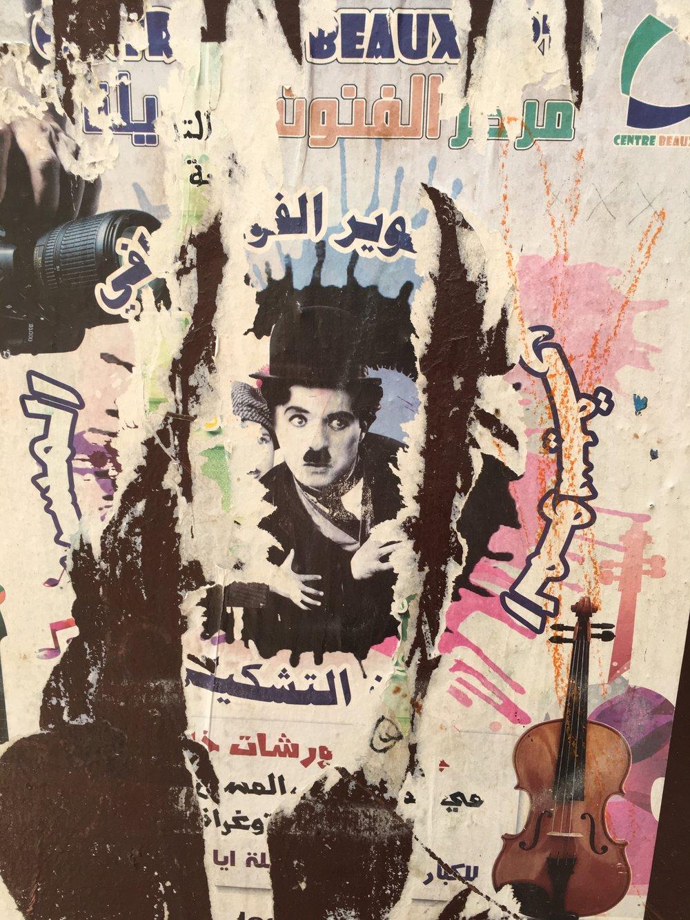 Charlie Chaplin x Morocco