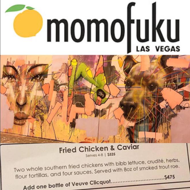Momofuku x David Choe in Las Vegas