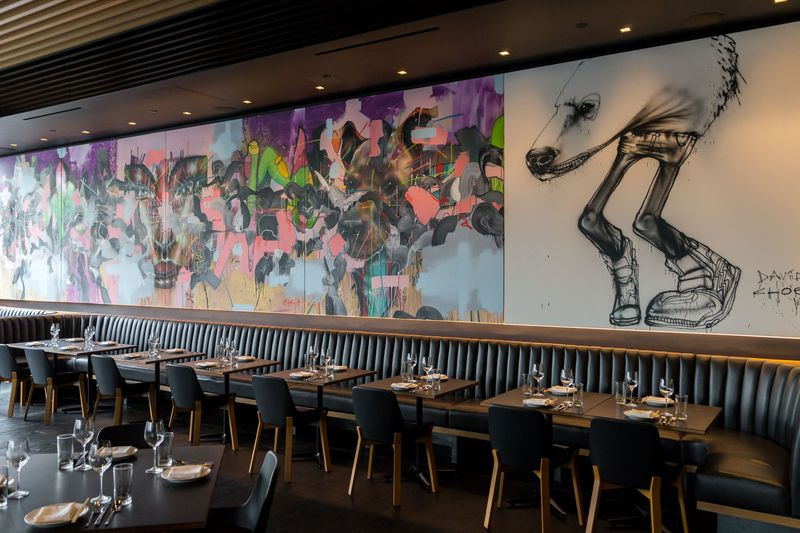 David Choe mural at Momofuku Las Vegas. Credit: Amelinda B Lee