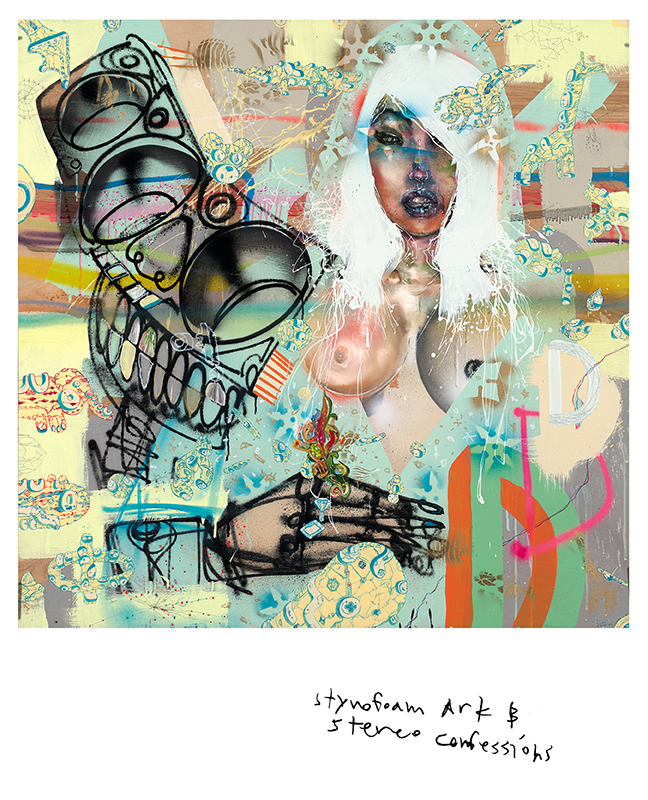David Choe Styrofoam Ark & Stereo Confessions (2008)