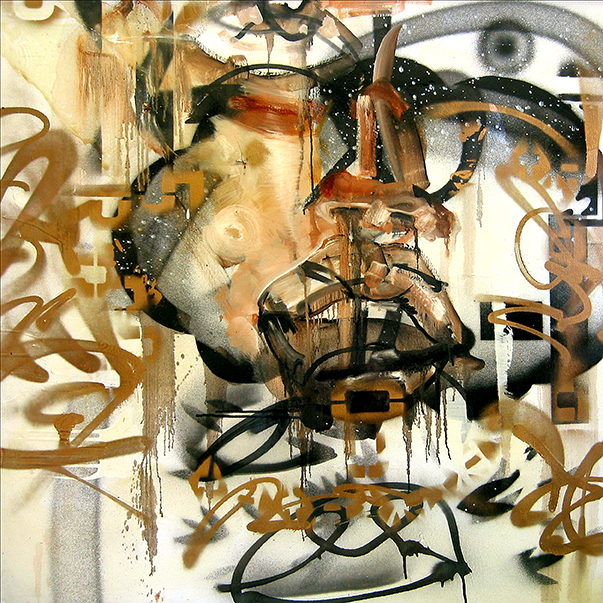 David Choe Scrunch Face (2010)