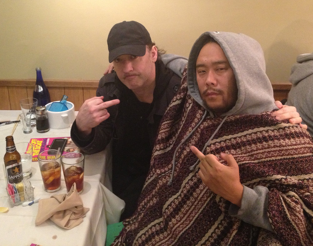 John Cusack and David Choe