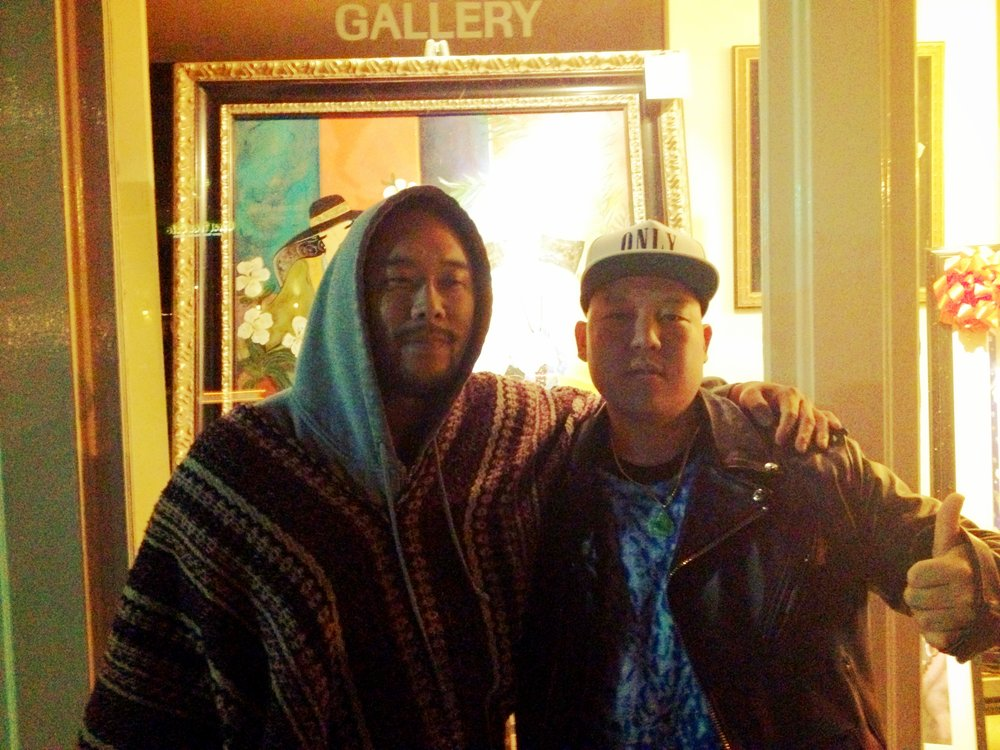 David Choe and Eddie Huang