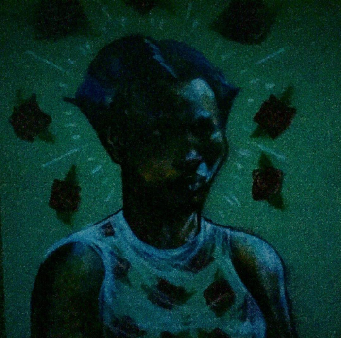 David Choe - Painting portraits in the dark